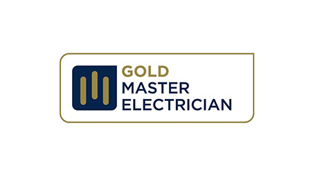 Gold master logo