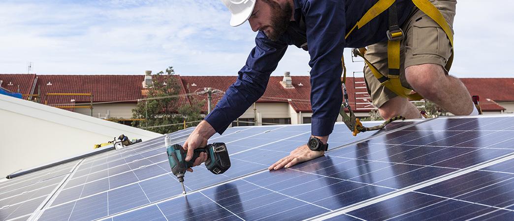 Solarpanel fittings
